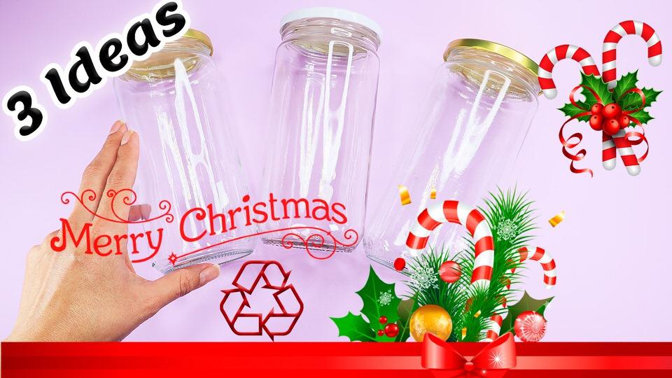 Decorar frascos de vidrio