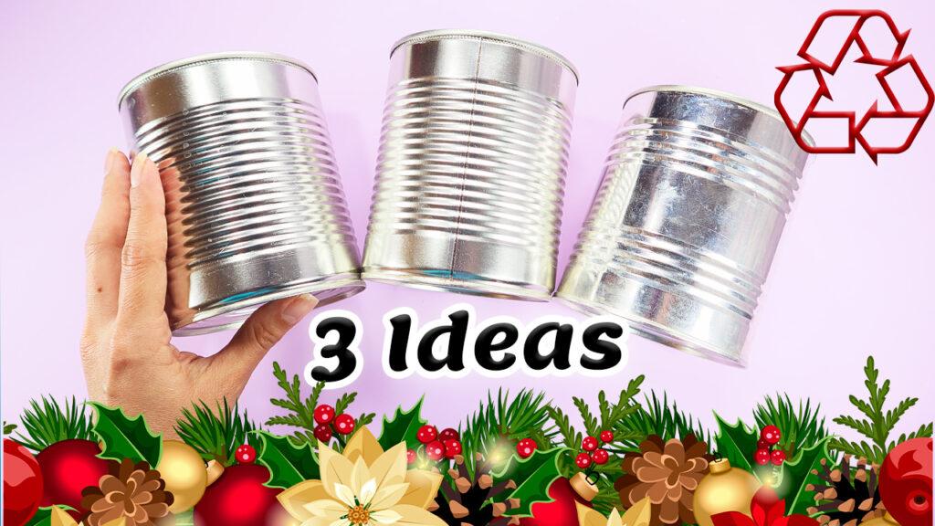 decorar latas de aluminio