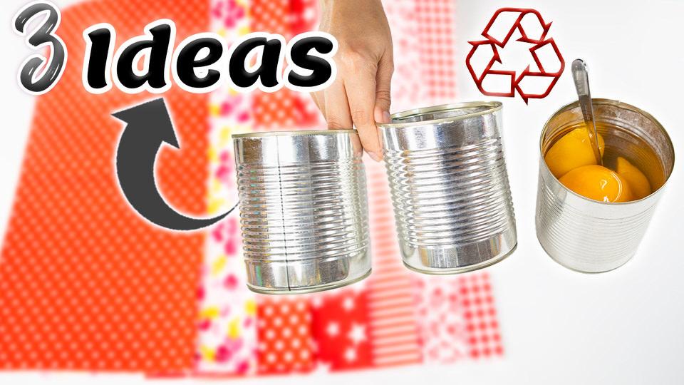 decorar latas